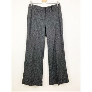 Cabi Speckle Trousers Dress Pants Sz 8 #230 Gray